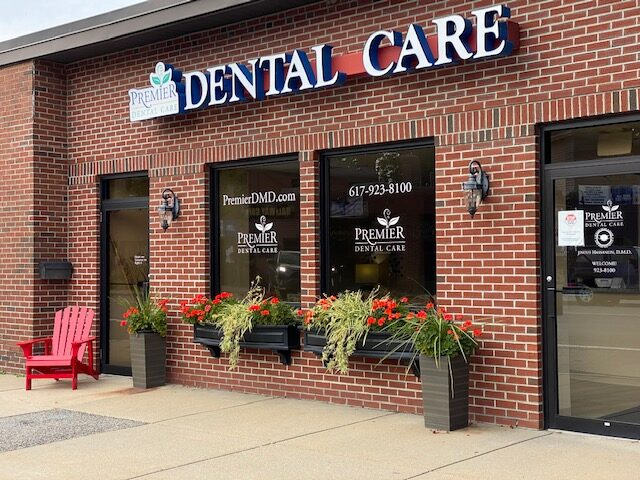 outside image of premier dental care